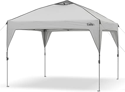 Amazon.com: Core 10' x 10' Instant Shelter Pop-Up Canopy Tent with .