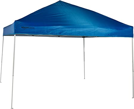 Amazon.com : AmazonBasics Pop-Up Canopy Tent - 10' x 10', Blue .