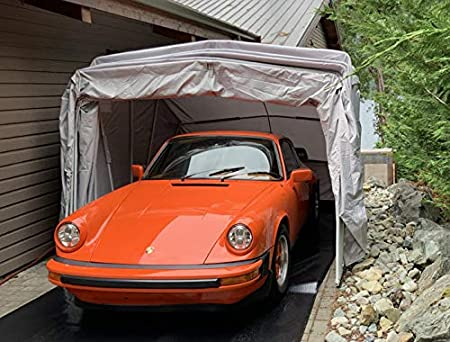 Amazon.com: Ikuby All Weather Proof Medium Carport, Car Shelter .