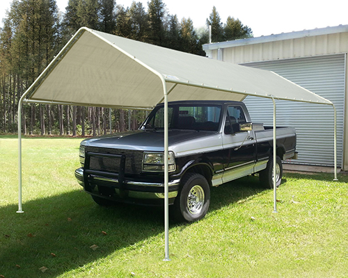 Quictent 20'X10'Heavy Duty Carport Garage Car Shelter Tent Canopy .