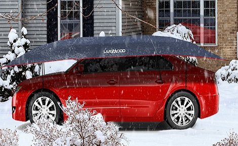 Lanmodo Pro Car Shelter Keeps Your Car Safe in Wint