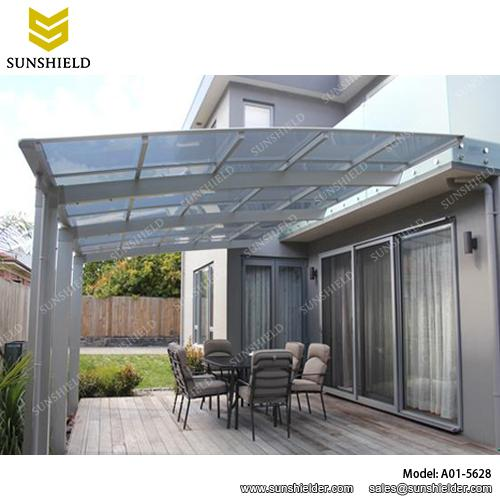 aluminum patio covers- porch awnings - Sunshield patio cano