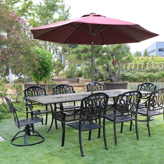 China Cast Aluminum Garden Chairs Outdoor Patio Furniture Cast .