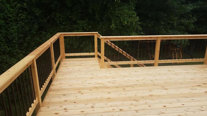 Cedar Deck Construction Ham Lake