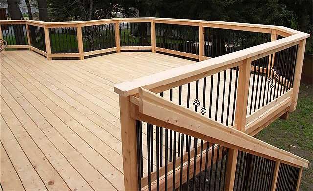 Decking - Port Orford Cedar : C&D Lumber C