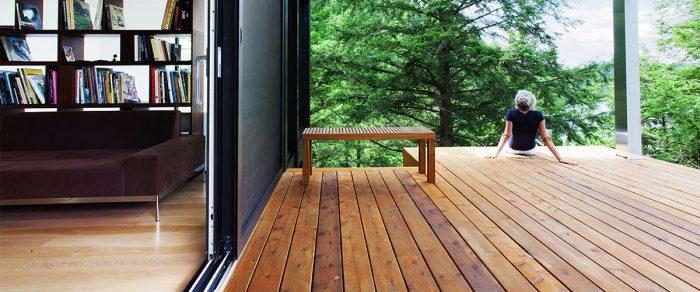 Western Red Cedar Decking - Real Ced