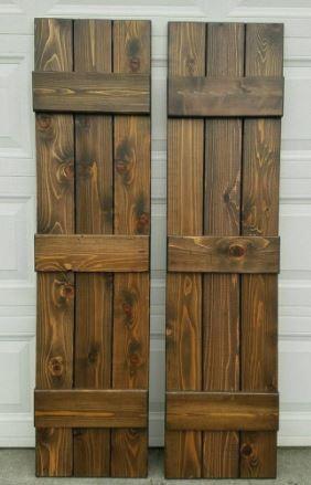 Custom Cedar Shutters | Northwest Arkans
