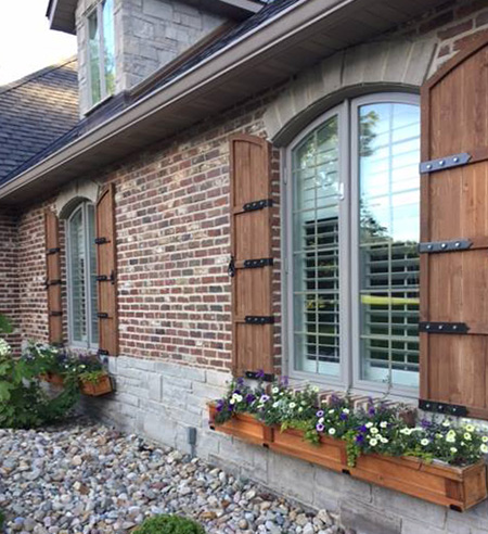 Wiegmann Woodworking & Fireplaces Can Build Custom Exerior .