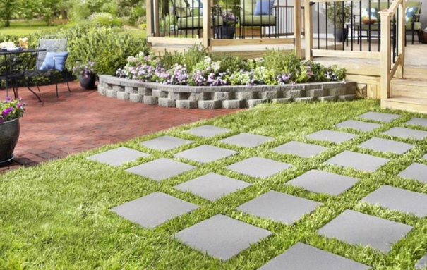 Lowes: 12 x 12 Cement Pavers ONLY $1 & FREE Store Pick