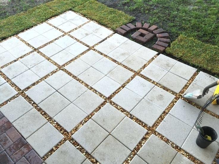 12x12 cement pavers 12x12 concrete pavers walmart | Gravel patio .