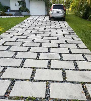 concrete cement pavers 24x24x2 Driveways patios $20 /4 sq.ft ea .