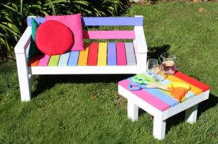 Give your kids a personal space with cute kids garden furniture .