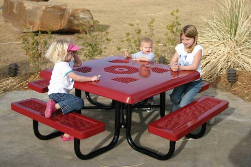 Commercial Children's Picnic Tables | National Outdoor Furnitu
