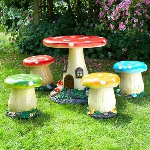 Exciting and funny furniture for children's garden | Childrens .