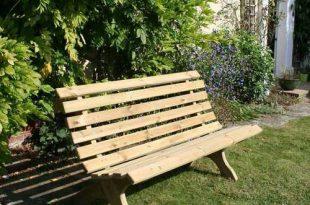 Lilly 3 Seat Outdoor Wooden Garden Bench   Garden seating, Garden .