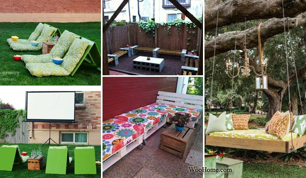 26 Awesome Outside Seating Ideas You Can Make with Recycled Items .