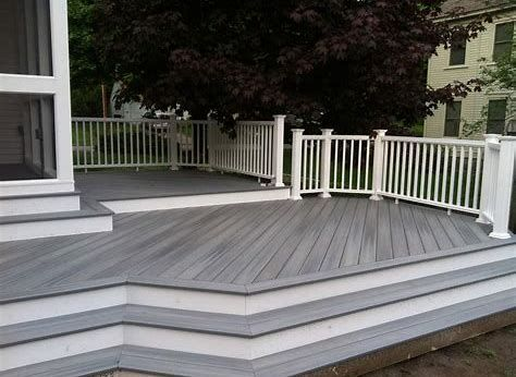 Composite decking is a fantastic alternative to all-wood decking .