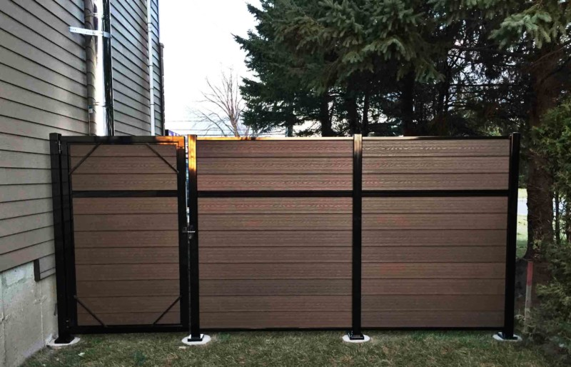 Composite Fence North Dakota : Liberty Fence and De