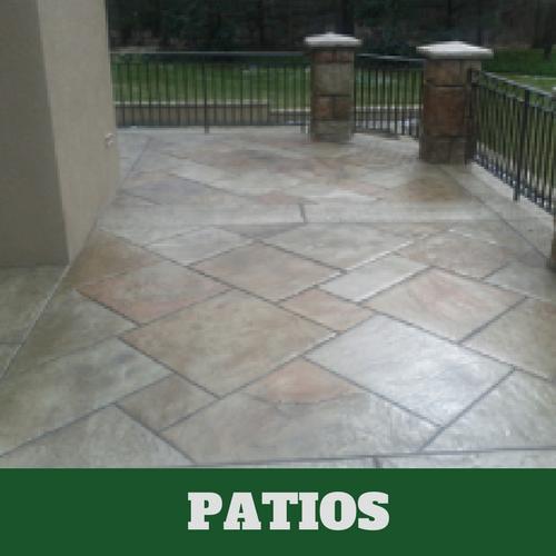 Concrete Patios | Stained Concrete Patio | Patios Franklin,