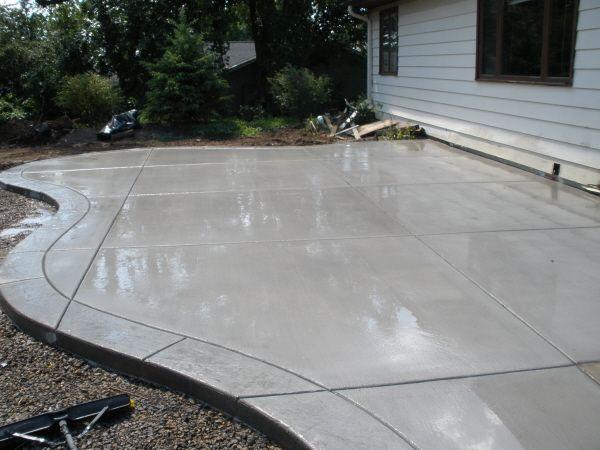Gallery Format | Concrete patio designs, Concrete pat
