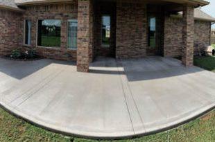 Concrete Patio and Porch - Edmond Concre