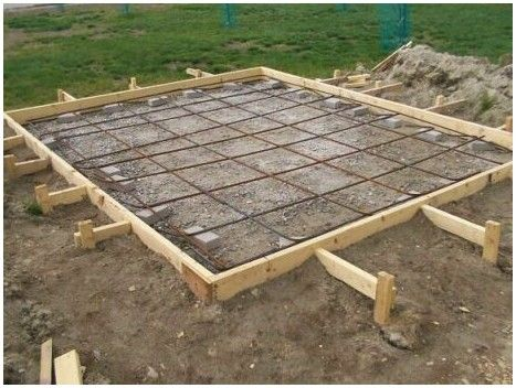How to build a concrete block shed foundation | Concrete she