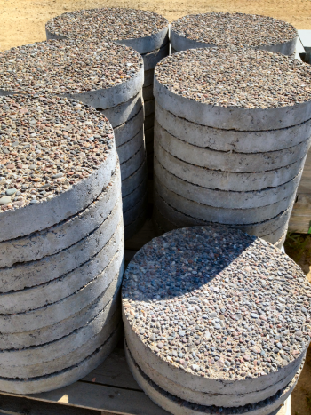 Concrete Stepping Stones | Friedges Landscaping, I