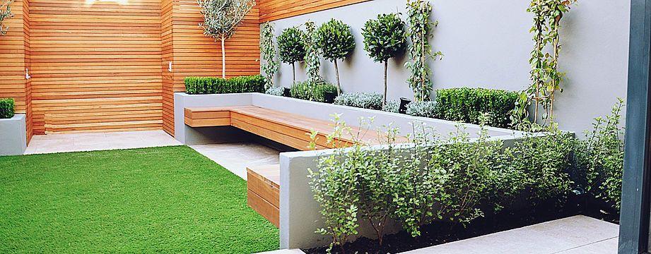Garden room modern contemporary garden design Clapham Chelsea .