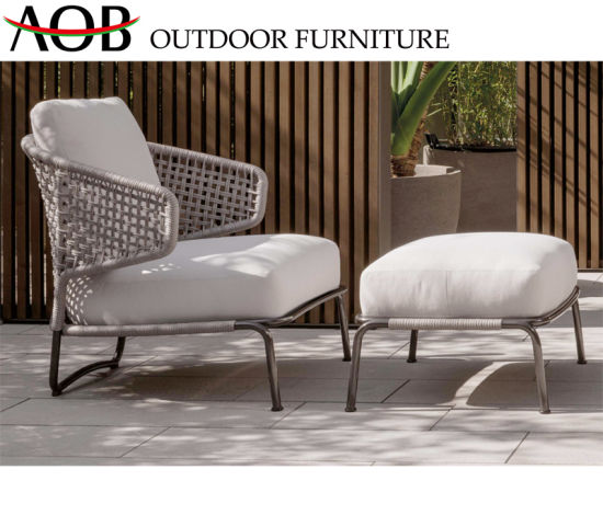 China Contemporary Outdoor Hotel Balcony Home Rope Furniture Sets .