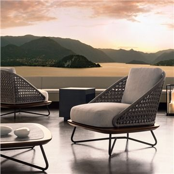 Minotti Rivera Armchair - Style # RiveraArmchair, Modern Outdoor .