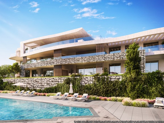 Luxury contemporary homes with panoramic sea vie
