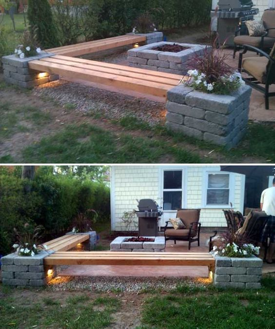 20+ Amazing Backyard Ideas on a Budget   Backyard, Diy patio, Pat