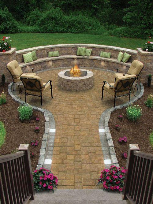 20 Cool Patio Design Ideas   Backyard, Backyard landscaping .