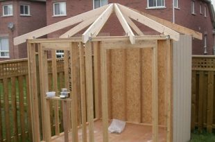 DIY shed- step by step   Diy shed, Building a shed, Backyard sh