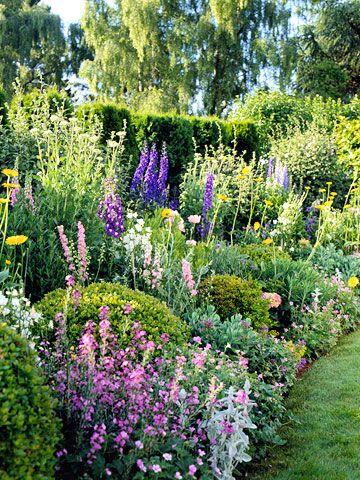 Summer Cottage Garden Plan | Cottage garden plan, Beautiful .
