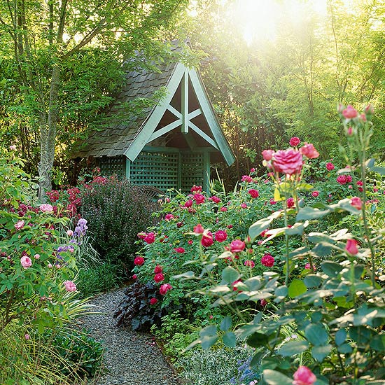 The Elements of Cottage Garden Design | Better Homes & Garde