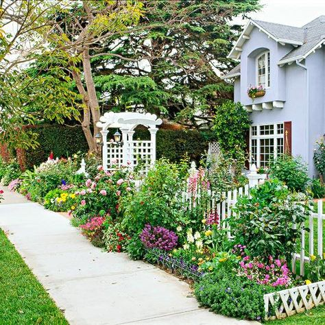 The Elements of Cottage Garden Design | Cottage garden design .