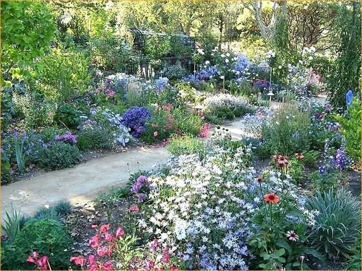 44 Pretty Cottage Garden Border Ideas | English garden design .