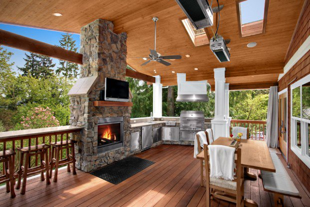 7 Different Types of Covered Deck Desig