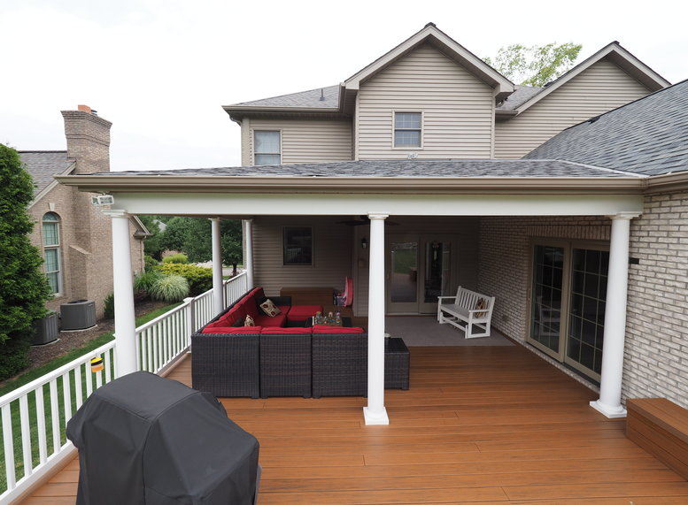 Covered Deck and Great Room Addition | Knox & Albanowski General .