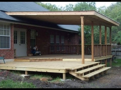 Covered Deck Pictures - YouTu