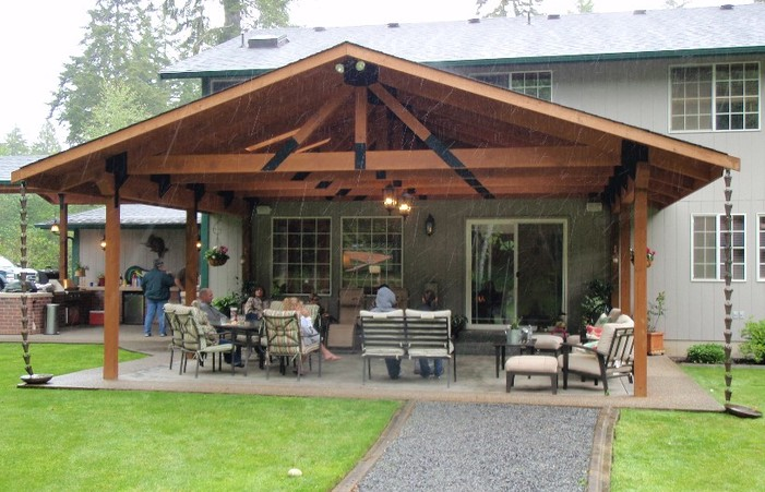 Backyard Covered Patio Large And Beautiful Photos Photo To Select .