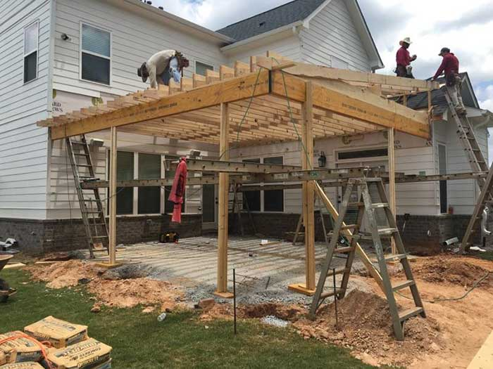 Covered Patios Gallery | Peachtree City and Newnan | Structured .