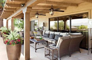 Pretty Covered Patios   Backyard patio designs, Patio design .