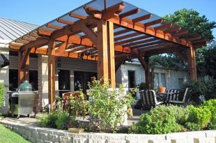 20 Beautiful Covered Patio Ideas | Patio trellis, Backyard patio .