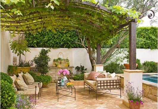 Vine Covered Pergola | Patio design, Rustic pergola, Pergo