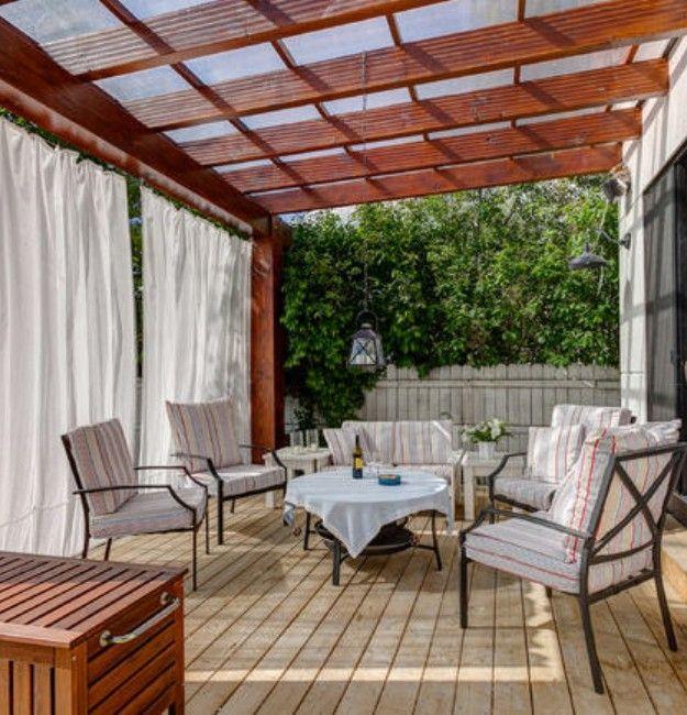 Pergola Rain Covers | Outdoor pergola, Pergola, Pergola pat