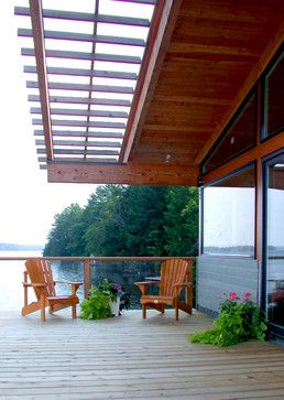 Partial Cover Deck Design Ideas, Pictures, Remodel and Decor .
