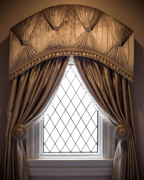 Custom Window Treatments Created & Installed by Our Drapery .