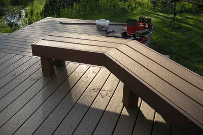 Building a House: Deck - Benches (Tri